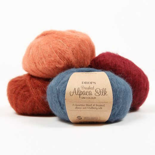 Garnstudio DROPS Brushed Alpaca Silk