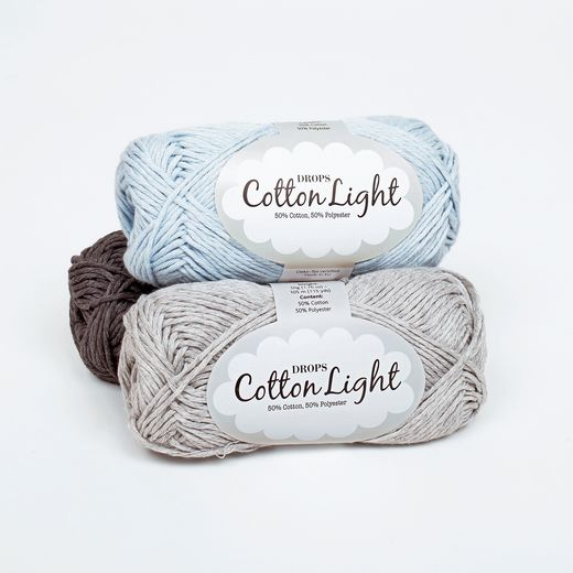 Garnstudio DROPS Cotton Light