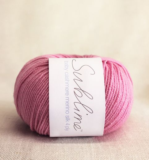 Sublime Baby Cashmere Merino Silk 4ply