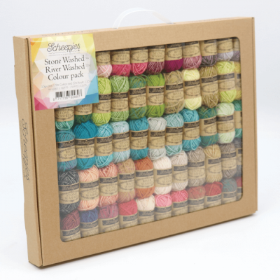 Scheepjes Stone Washed  - River Washed Colour Pack